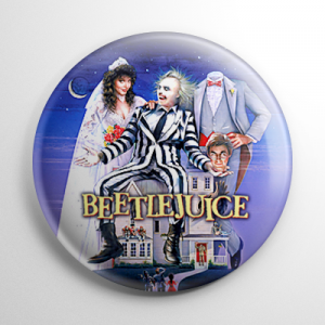 Beetlejuice Poster Button
