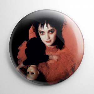 Beetlejuice Lydia Button