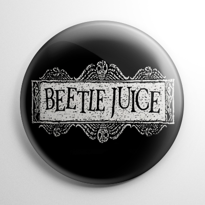 Beetlejuice Title Button