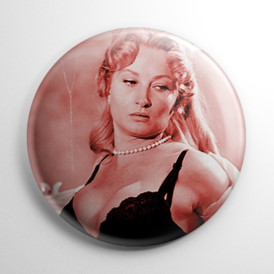 Carol Ohmart Spider Baby Button