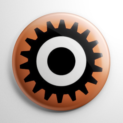 A Clockwork Orange Eye Button