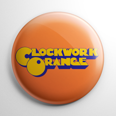 A Clockwork Orange Title Button