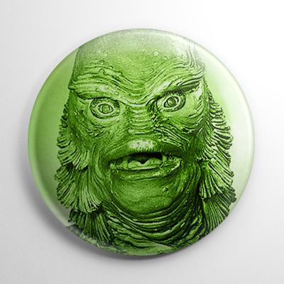 Creature from the Black Lagoon Button