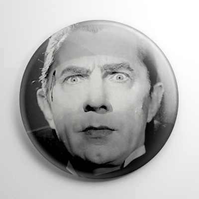 Dracula (A) B&W Button