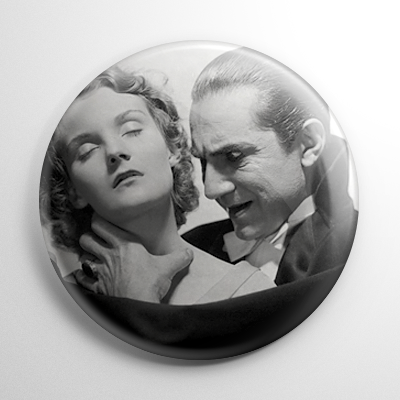 Dracula (B) B&W Button