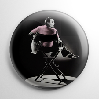 Ed Wood in Chair Button