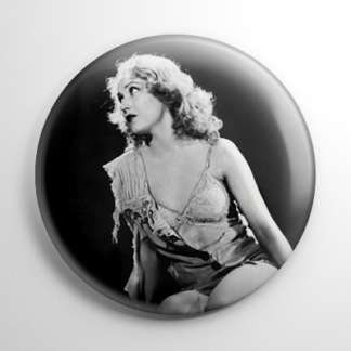 Fay Wray King Kong B&W (A) Button
