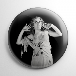 Fay Wray King Kong B&W (B) Button