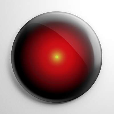 2001: A Space Odyssey HAL 9000 Button