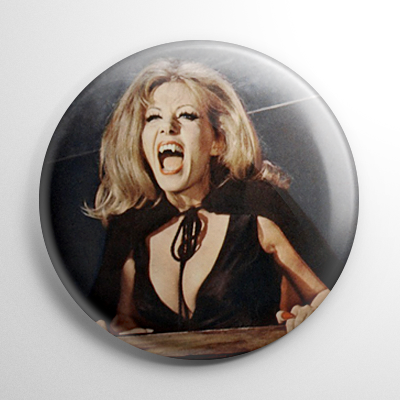 Scream Queen - Ingrid Pitt Countess Dracula Color (A) Button