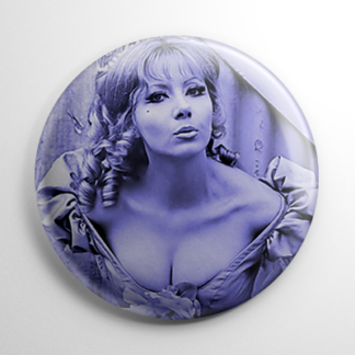 Ingrid Pitt Countess Dracula (B) Button