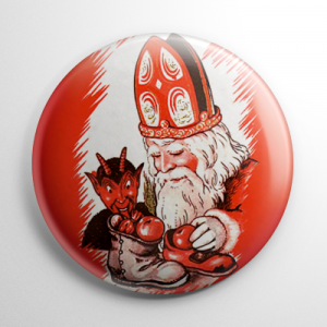 Krampus Boots Button