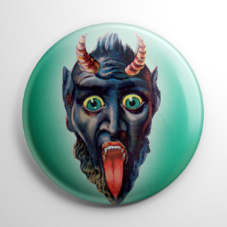 Krampus on Green Button