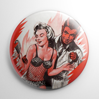 Krampus with Marilyn Monroe Button