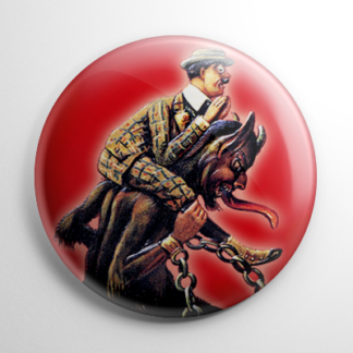 Krampus Piggyback Button