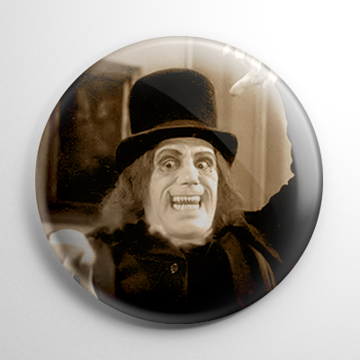 London After Midnight B&W Button