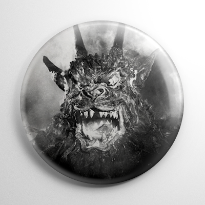 Night of the Demon B&W Button
