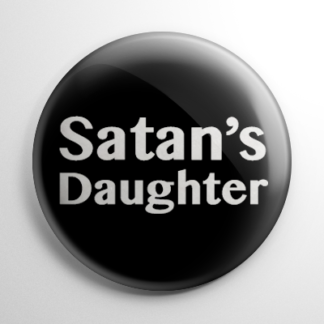 Satan's Daughter Button