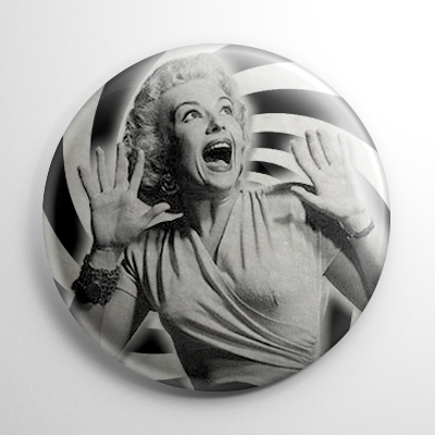 It Came from Outer Space  Screaming Woman (A) Button