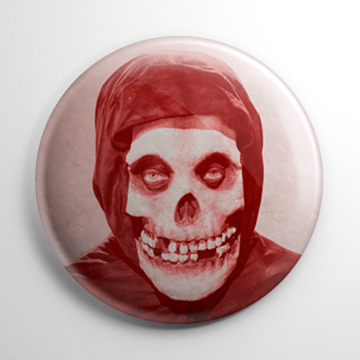 The Crimson Ghost Button