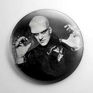 The Thing from Another World B&W Button