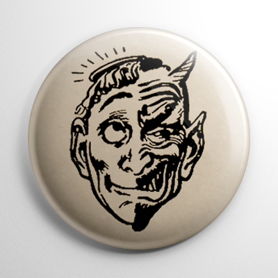 Topstone Mask Angel & Devil Button