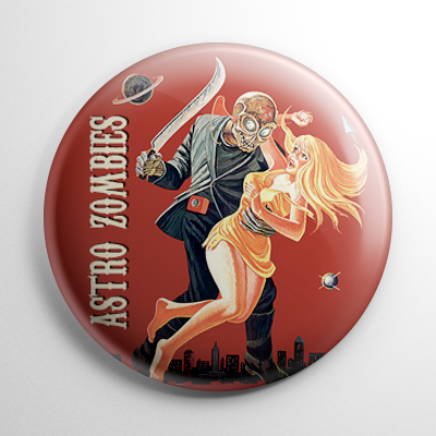 Astro Zombies Button
