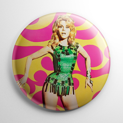 Barbarella (B) Button