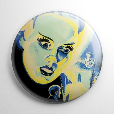 Bride of Frankenstein Poster Button