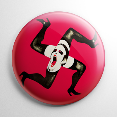 Cabaret Swastika Button