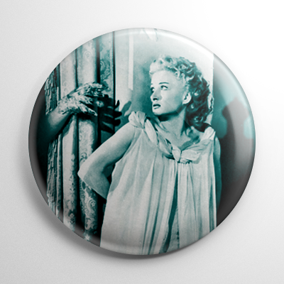 Carol Ohmart House on Haunted Hill Button