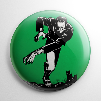 Frankenstein Button