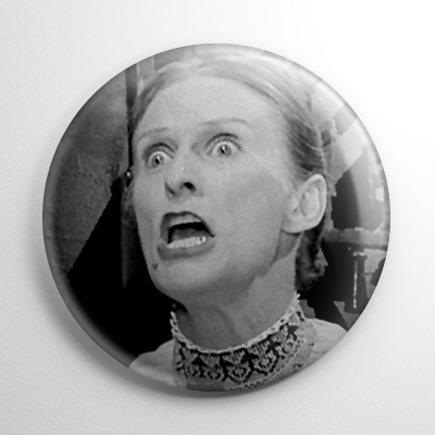 Young Frankenstein - Frau Blucher Button