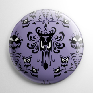Haunted Mansion Wallpaper Button
