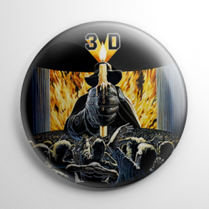 House of Wax (B) Button