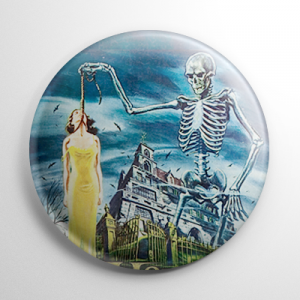House on Haunted Hill (B) Button