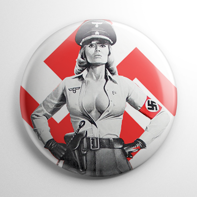 Ilsa She Wolf of the SS Button