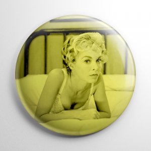 Scream Queen - Janet Leigh Psycho (B) Button