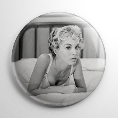 Scream Queen – Janet Leigh Psycho (B) B&W Button