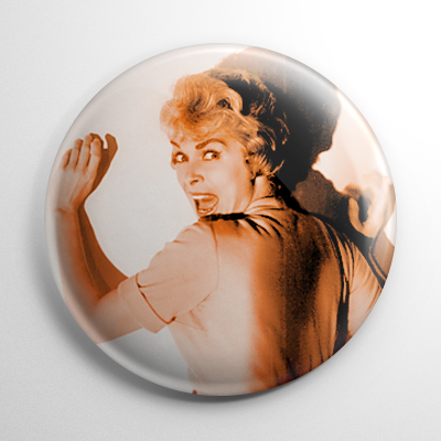Scream Queen - Janet Leigh Psycho (D) Button