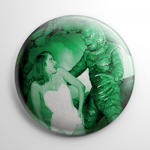 Scream Queen - Julie Adams Creature from the Black Lagoon (B) Button