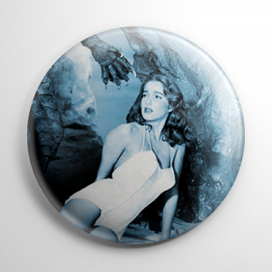 Scream Queen - Julie Adams Creature from the Black Lagoon (C) Button