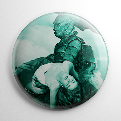 Scream Queen – Julie Adams Creature from the Black Lagoon Button