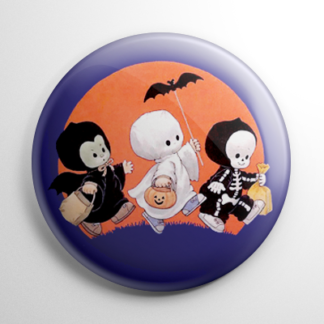 Vintage Halloween - Little Trick r' Treaters Button