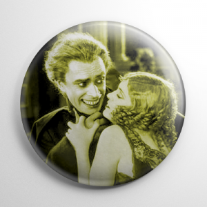 Scream Queen - Mary Philbin Man Who Laughs Button