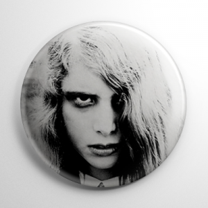 Night of the Living Dead B&W Button