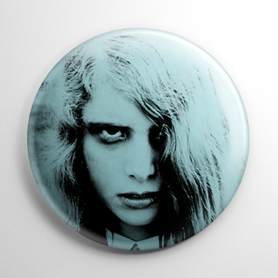 Night of the Living Dead Zombie Girl Button