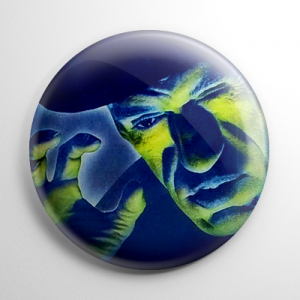 House of Horrors Rondo Hatton Button