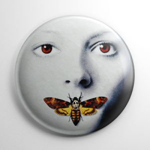 Silence of the Lambs Button