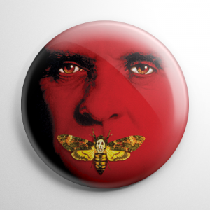 Silence of the Lambs Hannibal Lector Button